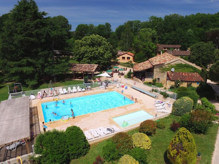 Dordogne Holiday Resort **** Villa 4/6 pers #3