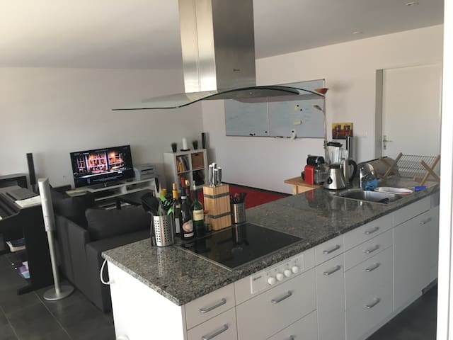 Modern apartment in Winterthur near Airport ZH - Winterthur - Apartemen