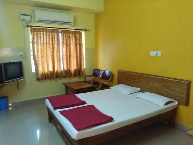 Hotel Vishwa,  Deluxe Double AC Rooms - GADAG