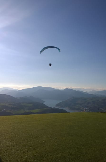 Activités de vol et de lac à 10 minutes