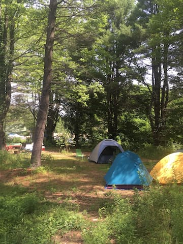 camp site  - tent campsite  CLOSED TILL APRIL 2017 - East Durham
