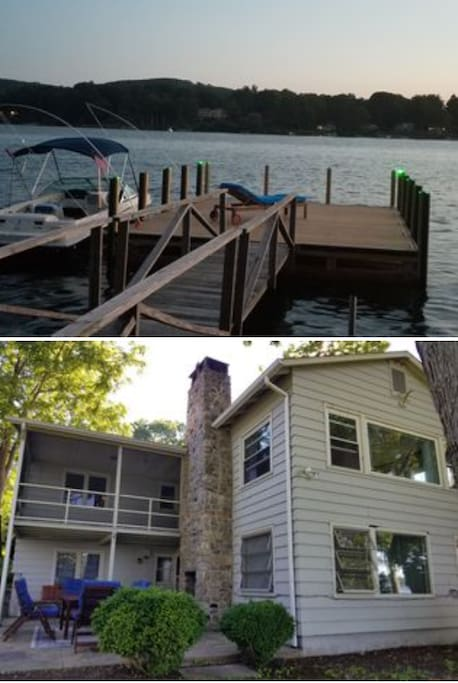 House and dock
