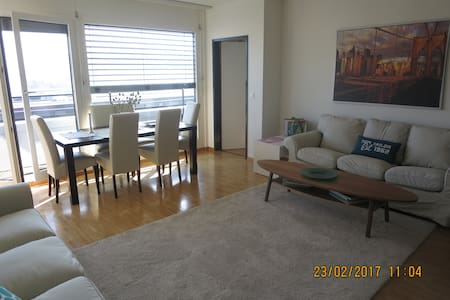 CENTRAL, light, modern apartment, nice views - Zug - Apartament