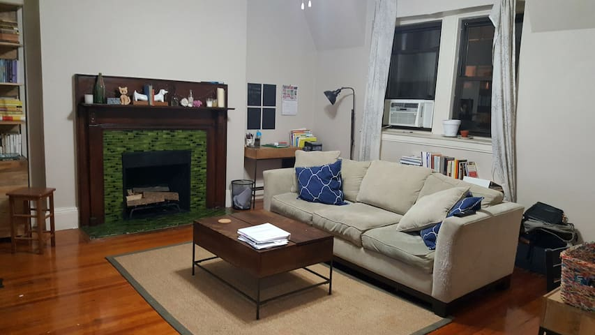 Couch in Quiet, Large Room on UWS