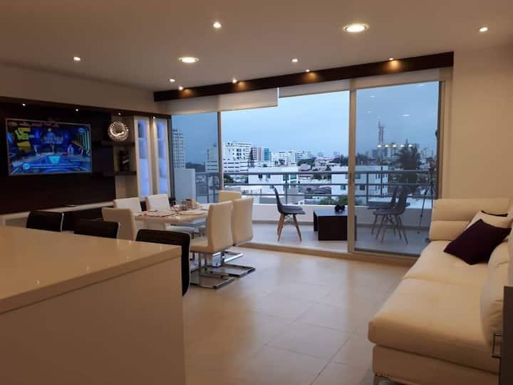 Lujoso Penthouse en Chipipe, Salinas Ecuador.