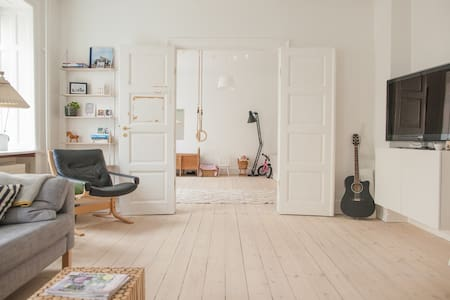 Cosy, light and spacious apartment in Copenhagen. - 哥本哈根 - 公寓