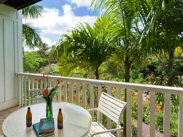 Free Rental Car, KP 301, AC, First Floor Condo Overlooking The Plantation Drive Your Free Midsize Rental Car To Popular Beaches Nearby