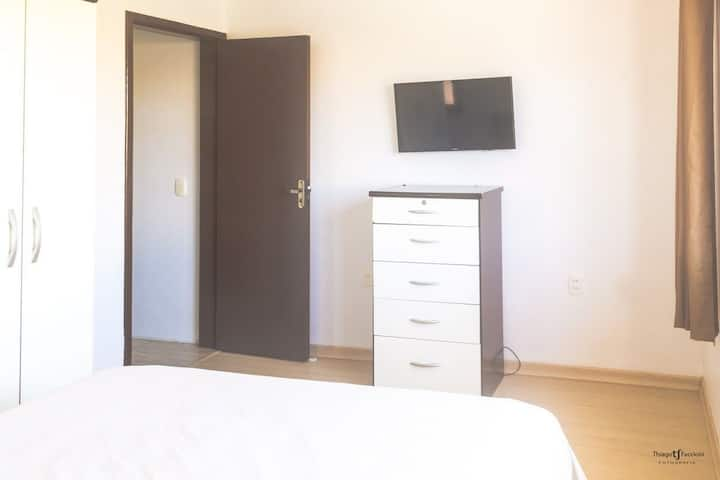 Apartamento excelente para casais