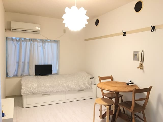 SHIBUYA Hatagaya Station 5 minutes OPENED in April (Phone number hidden by Airbnb)