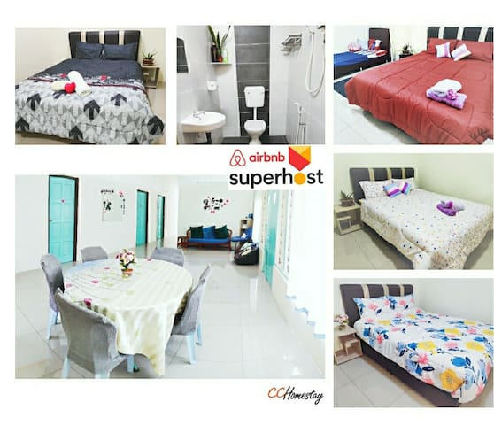 ❤CC Homestay Ipoh❤Bungalow Single Storey★4-15pax★