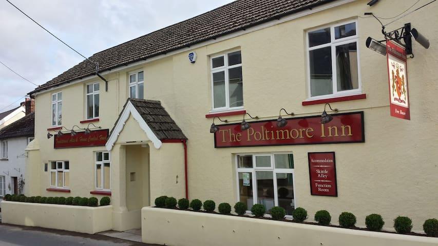 Barle - sleep 4 - The Poltimore Inn, North Molton, north Devon