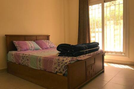 Madinaty semi-furnished with private garden
