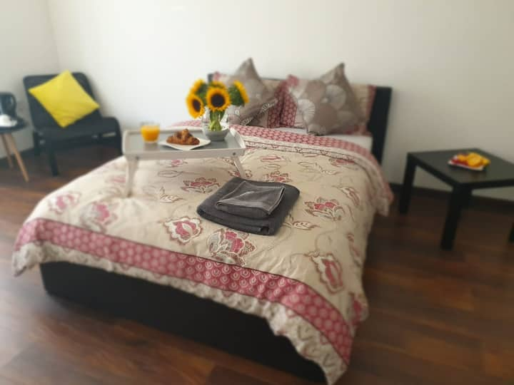 Luxury double bedroom for 2 guests