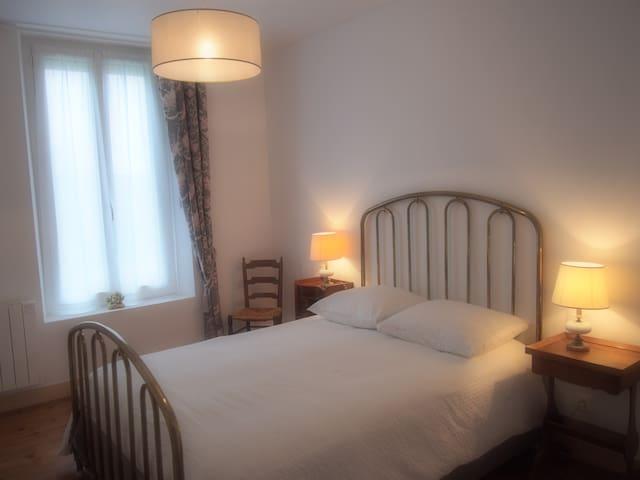 Chambre Sucre d'ange - B&B la Sucrerie - Fontenay