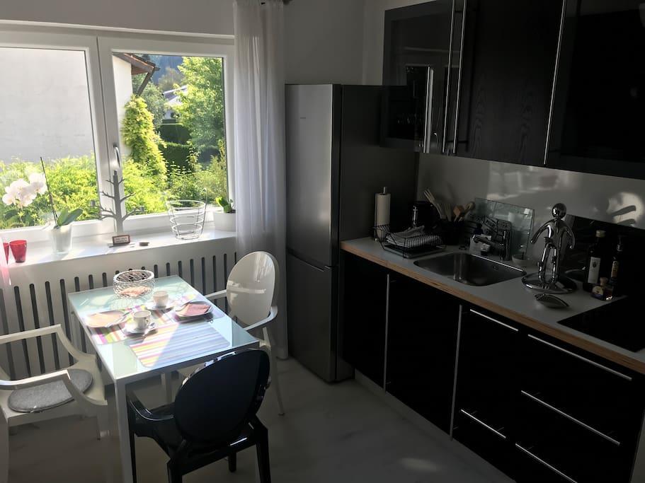 Die Küche - klein aber fein -