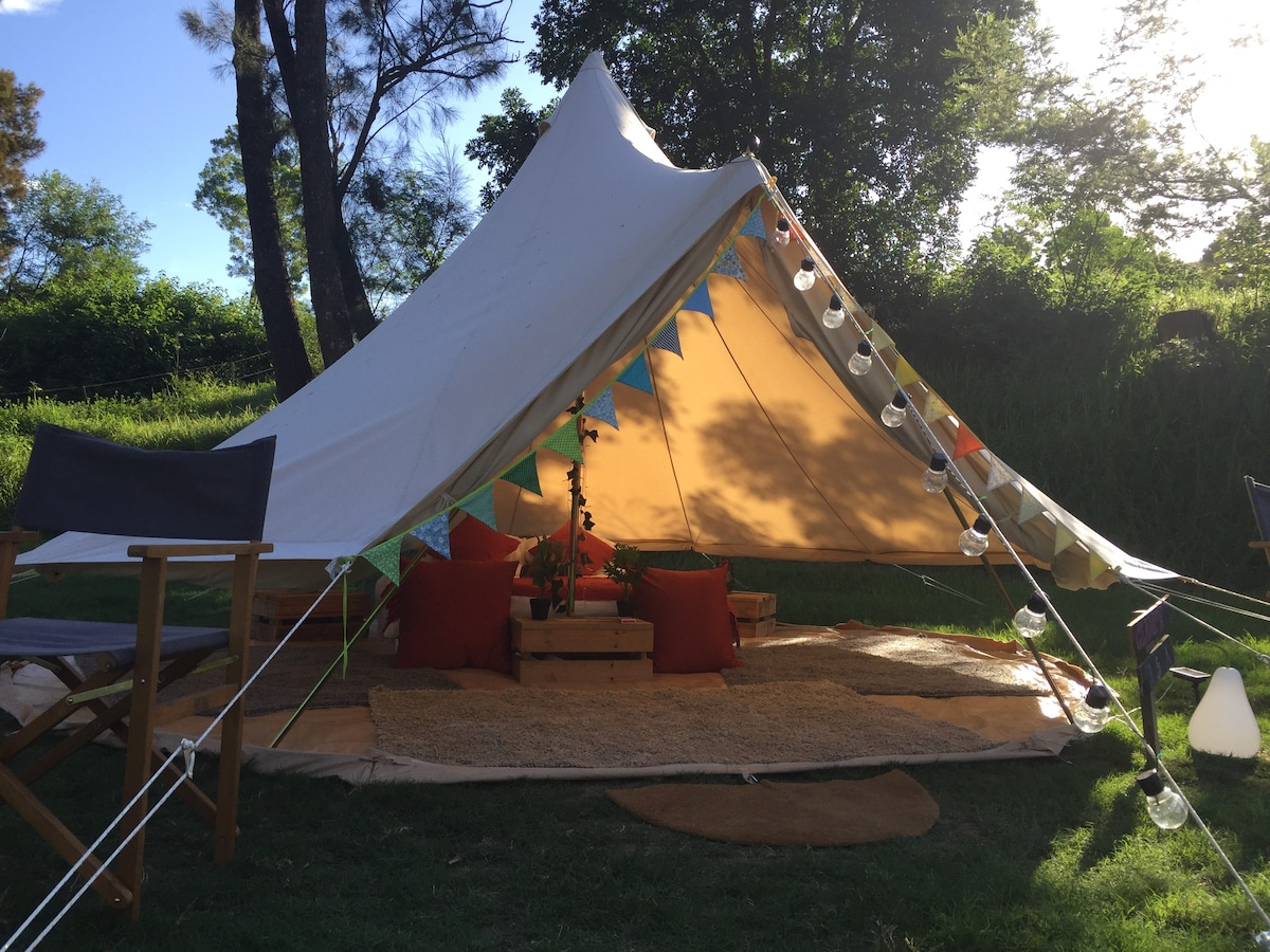 Luxury Gl&ing Bell Tent in Royal National Park - Tents for Rent in Royal National Park New South Wales Australia & Luxury Glamping Bell Tent in Royal National Park - Tents for Rent ...