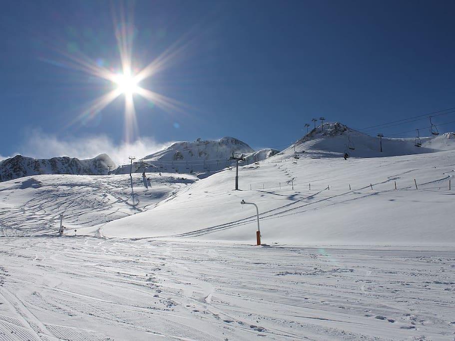 Pistes de ski du Pas De La Case.