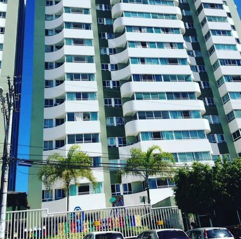 Apartamento com dois quartos para o carnaval