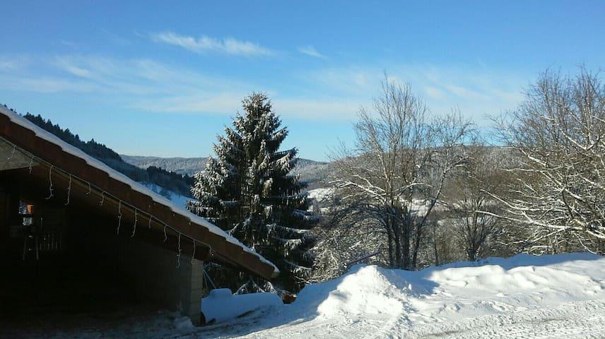 Gîte Contemporain Esprit Chalet proche Gerardmer - Le Tholy - Natur-Lodge