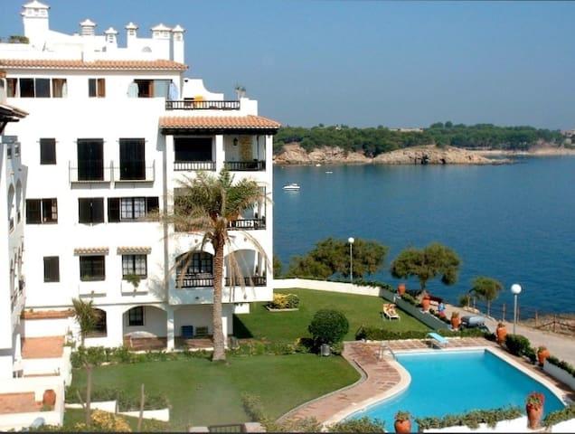 Estudio Punta Romana con piscina, WiFi y vistas