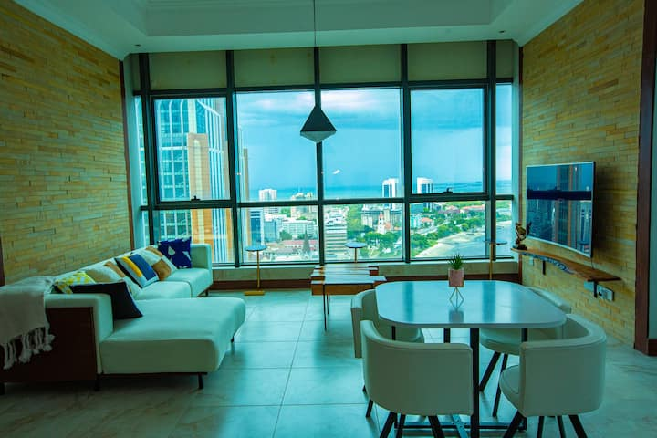 Ocean front Apartment next to Zanzibar Ferry
