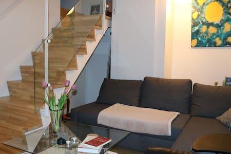 15 min from the heart of Copenhagen. Two-floor apt