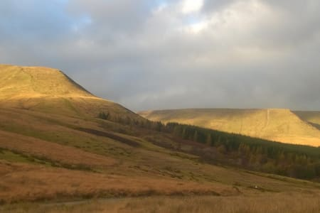 Brecon Beacons walkers paradise