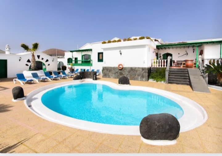 2-Habitación doble en Finca Rural - Lanzarote
