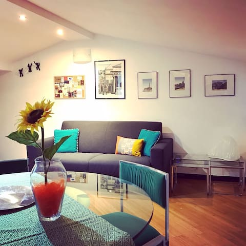 salone indipendente con divano letto