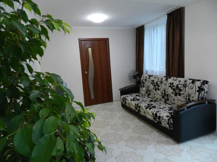 Уютная 2х комн квартира в Сочи с отдельным входом