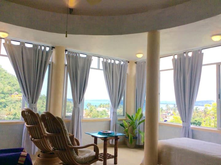 Ocean view upper suite