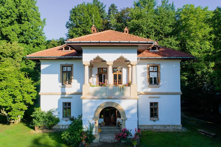 Heritage accommodation at Villa Golescu