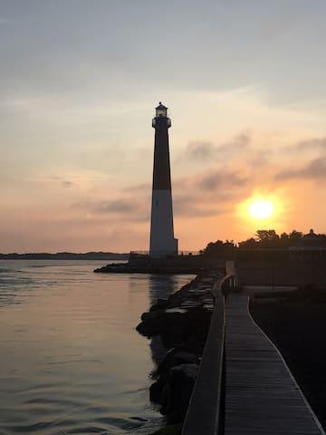 Barnegat Light House at sunrise