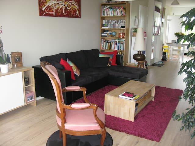 Appartement F3 - 70 m² - balcon vue sur Caen - Caen - Appartement