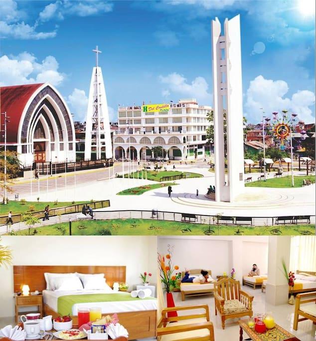 Del Castillo Plaza Hotel tu mejor elección.