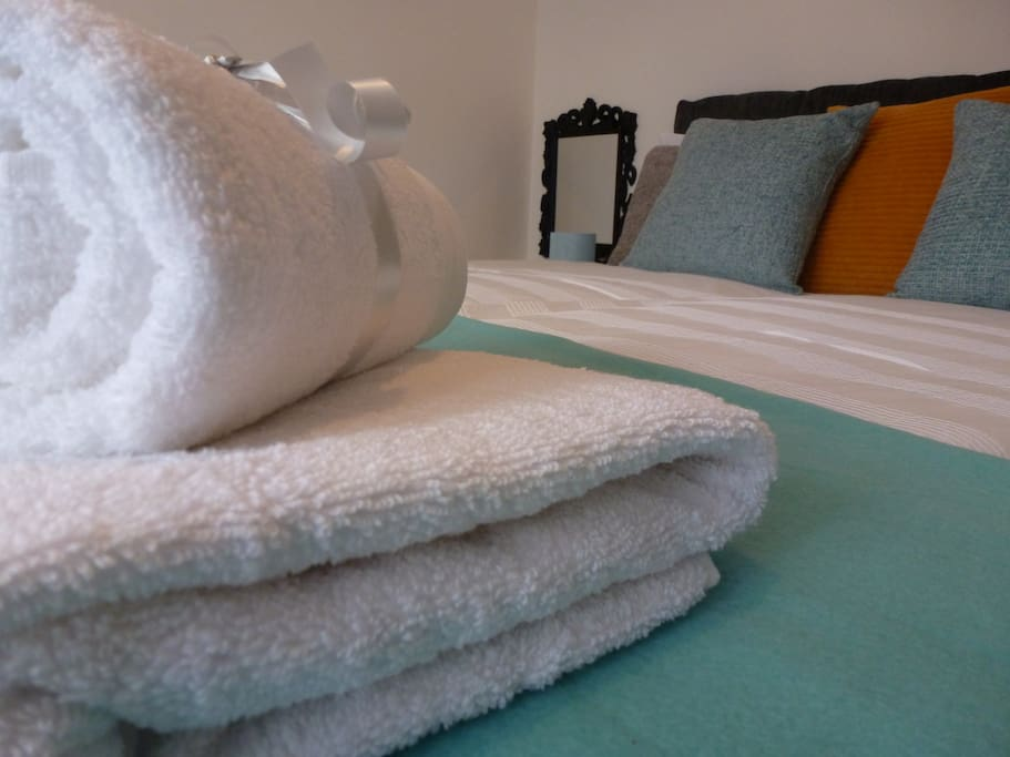 Fresh & Clean, Linnen & Towels replaced regularly