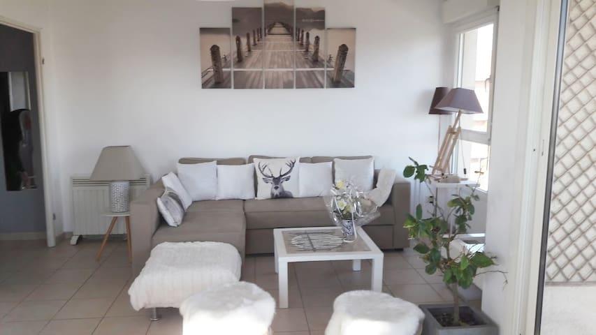 Centre/2terrasses/climatisation/wifi/garage privé - Aix-en-Provence - Apto. en complejo residencial