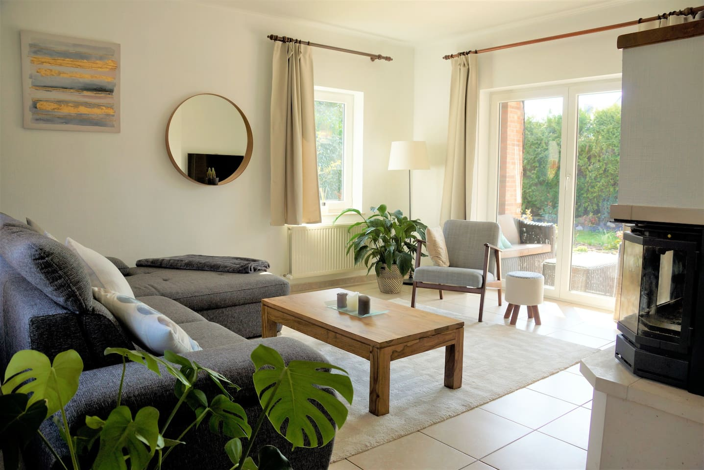 Living room - relax and enjoy your stay