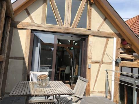 My ITTle Home, bývalá farma poblíž Štrasburku