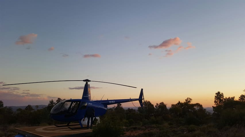 Fly to your bed - Flinders Ranges