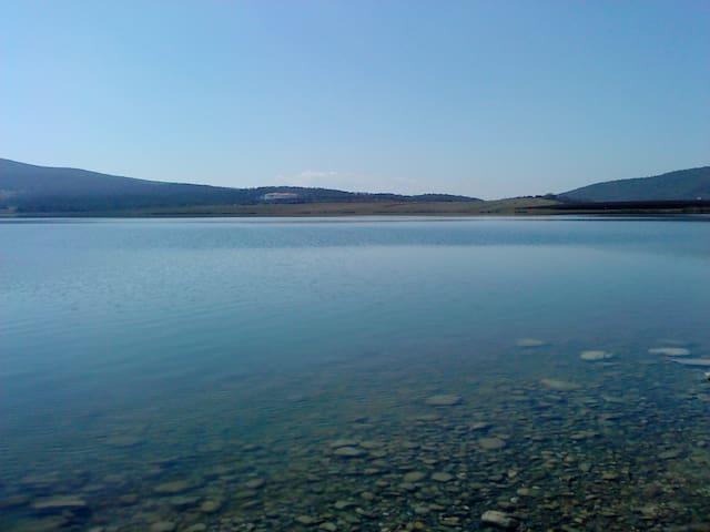 bazaleti lake - Tianeti - Haus