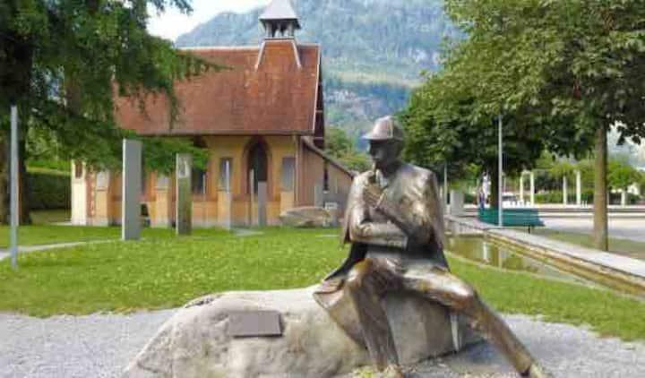 Alpenstube im Herzen von Meiringen