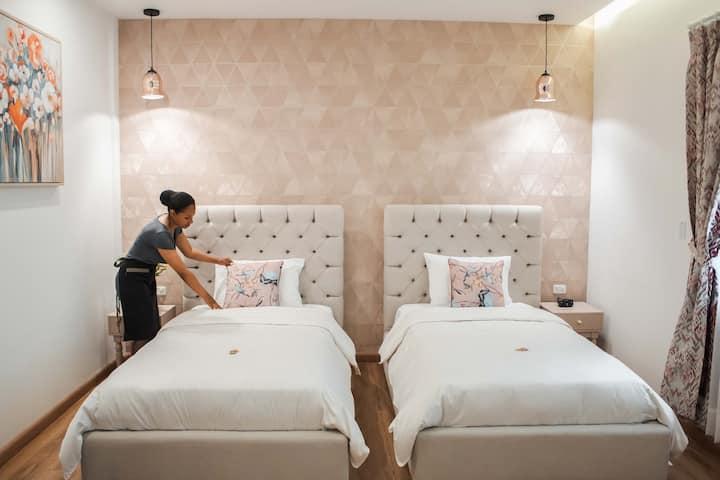 Habitación Twin Superior - Adamas House Hotel