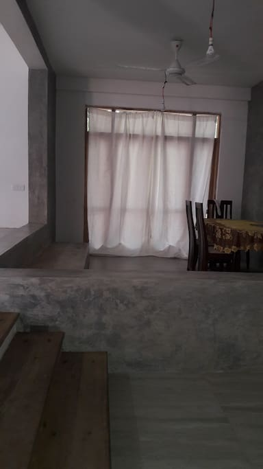 Downstairs Dining area.