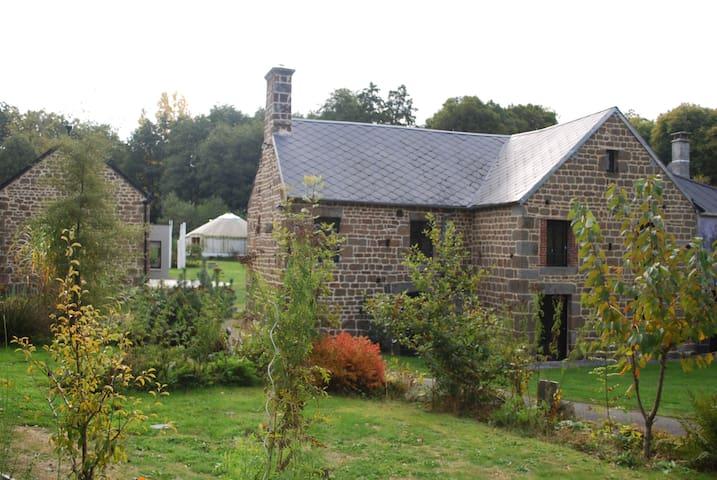 Ancien moulin situé dans un écrin de verdure - bréel