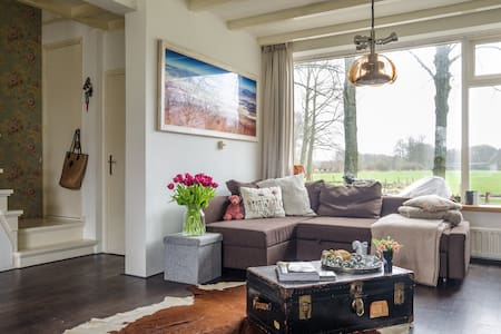 Idyllic forest home east of Amsterdam - 's-Graveland - Hus