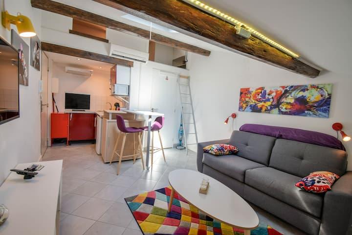 Charmant Studio Quartier Jean Médecin - Massena