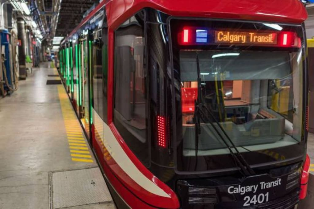 The Calgary C-Train LRT