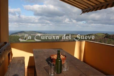 Casa Rural La Curuxa Del Sueve - Carrandi - Hus
