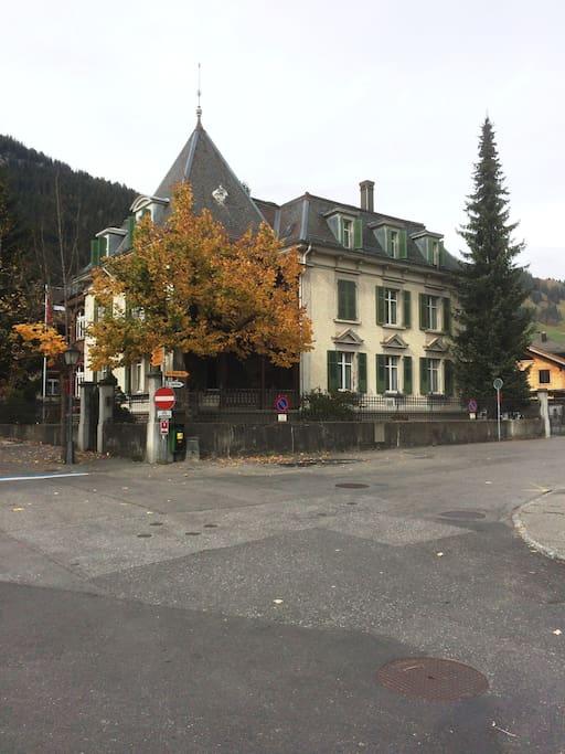 Sicht vom Bahnhof / view from station